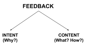 Figure: Components of Feedback