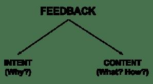 Figure: Components of Feedback